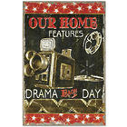 Our Home Features Drama Movie Reel Canvas Print