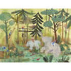 Safari Swing Wall Art Canvas Reproduction