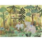 Safari Swing Wall Art Canvas Reproduction