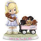 Precious Moments Love is the Paw-fect Gift Figurine