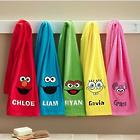 Personalized Sesame Street and Nickelodeon Character Bath Towel
