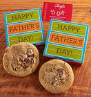 Father's Day Cookie Card with $5 Gift Card