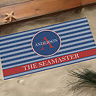Anchors Aweigh Large Personalized Doormat