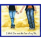 Young Love II Personalized Print