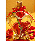 Romantic Message in a Glass Heart Bottle