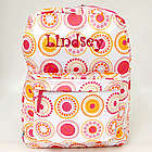 Personalized Circle Dot Backpack