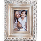 Distressed Beige Wood 4x6 Photo Frame