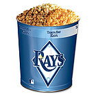 Tampa Bay Devil Rays 3-Way Popcorn Tin