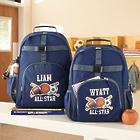 Boy's Personalized Sports All-Star Backpack