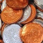 100 US Money Bubble Gum Coins