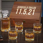 Personalized Better Together Whiskey Gift Set for Couples