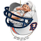 Auburn Tigers Baby's First Christmas Ornament