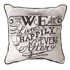 We Lived Happily Ever After Pillow