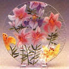 Field of Lilies Large Relish Tray
