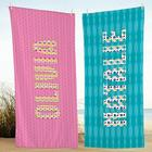 Personalized Big Name Beach Towel