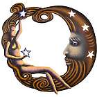 Ageless Moon Steel Wall Art