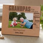 Wonderful Grandpa Personalized Photo Frame