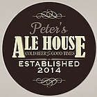 Personalized Ale House Round Wall Sign