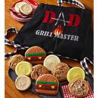 Dad Grill Master Apron with Cookies