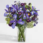 Elysian Garden Bouquet of Purple Irises