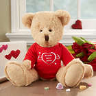 Personalized Heart Teddy Bear
