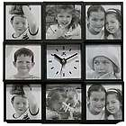 Cherished Memories Picture Frame Wall Clock