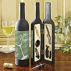 Uncork Some Happy Personalized Wine Bottle Accessory Kit