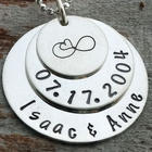 Infinite Love Anniversary Personalized Necklace