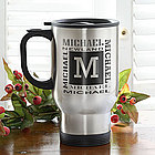 You Name It Stainless Steel Travel Mug