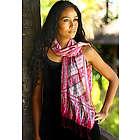 Pink Fantasy Silk Batik Scarf