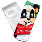 Wishing You the Beary Best Birthday Panda Socks