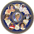 Princess Diana 20th Anniversary Heirloom Porcelain Plate