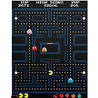 Pac-Man Arcade Screen Wall Decal