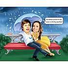 Stormy Weather Custom Caricature Print