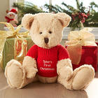 Personalized First Christmas Teddy Bear