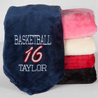 Personalized Team Name and Number Sports Fleece Blanket