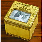 Personalized Cat Memorial Picture Box
