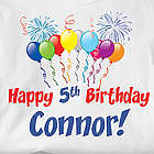 Personalized Birthday Hooded Sweatshirt