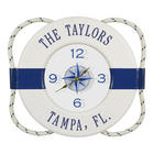 Personalized Ring Buoy Clock