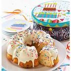 Confetti Birthday Cake in a Musical Gift Tin