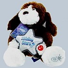 """You Are My Shining Star"" 8"" Sitting Shining Stars Dog Plush"