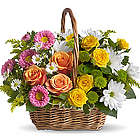 Sweet Tranquility Flower Basket