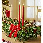 Grand Holiday Evergreen Centerpiece