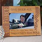 Personalized US Air Force Wooden Picture Frame