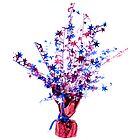 Patriotic Star Gleam 'N Burst Centerpiece
