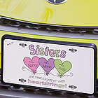 Heart Strings Sisters License Plate