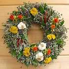 Garlic Herb Wreath