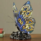 Stained Glass Butterfly Novelty Lamp