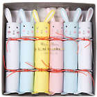 6 Mini Bunny Cracker Party Poppers