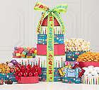 Best Wishes Birthday Treats Tower